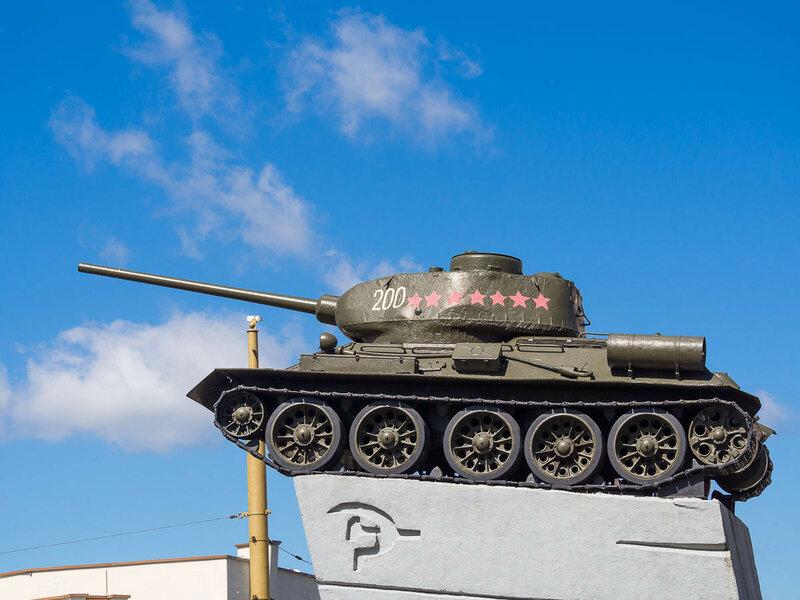 Семизвёздочный танк.