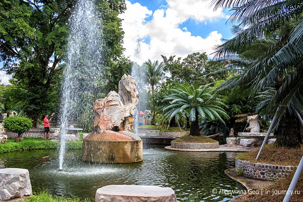 ландшафтная композиция в парке камней паттайя