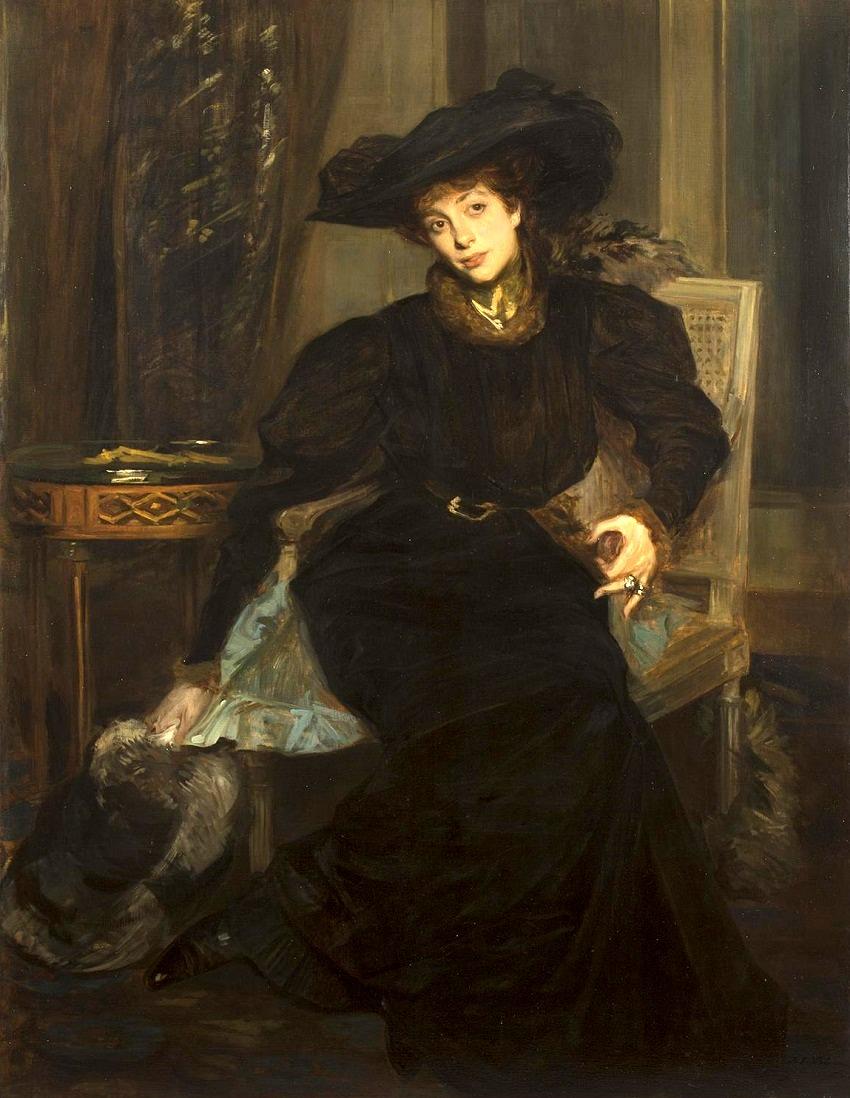 Portrait de la Comtesse de Greffulhe.