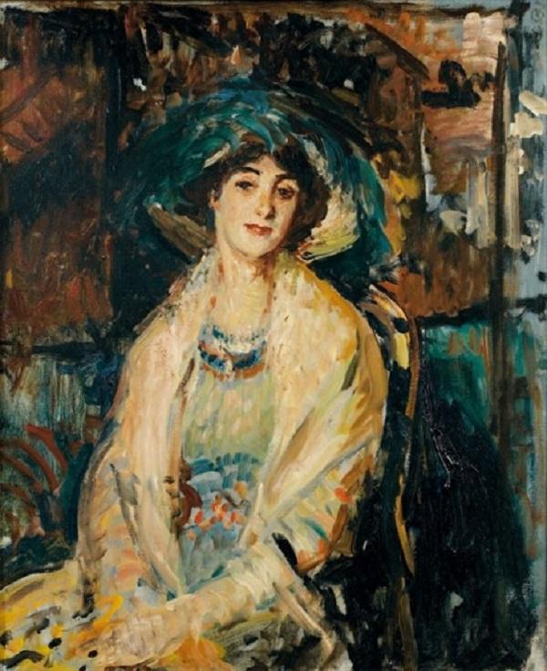 Étude pour le portrait de la Karsavina, 1928.