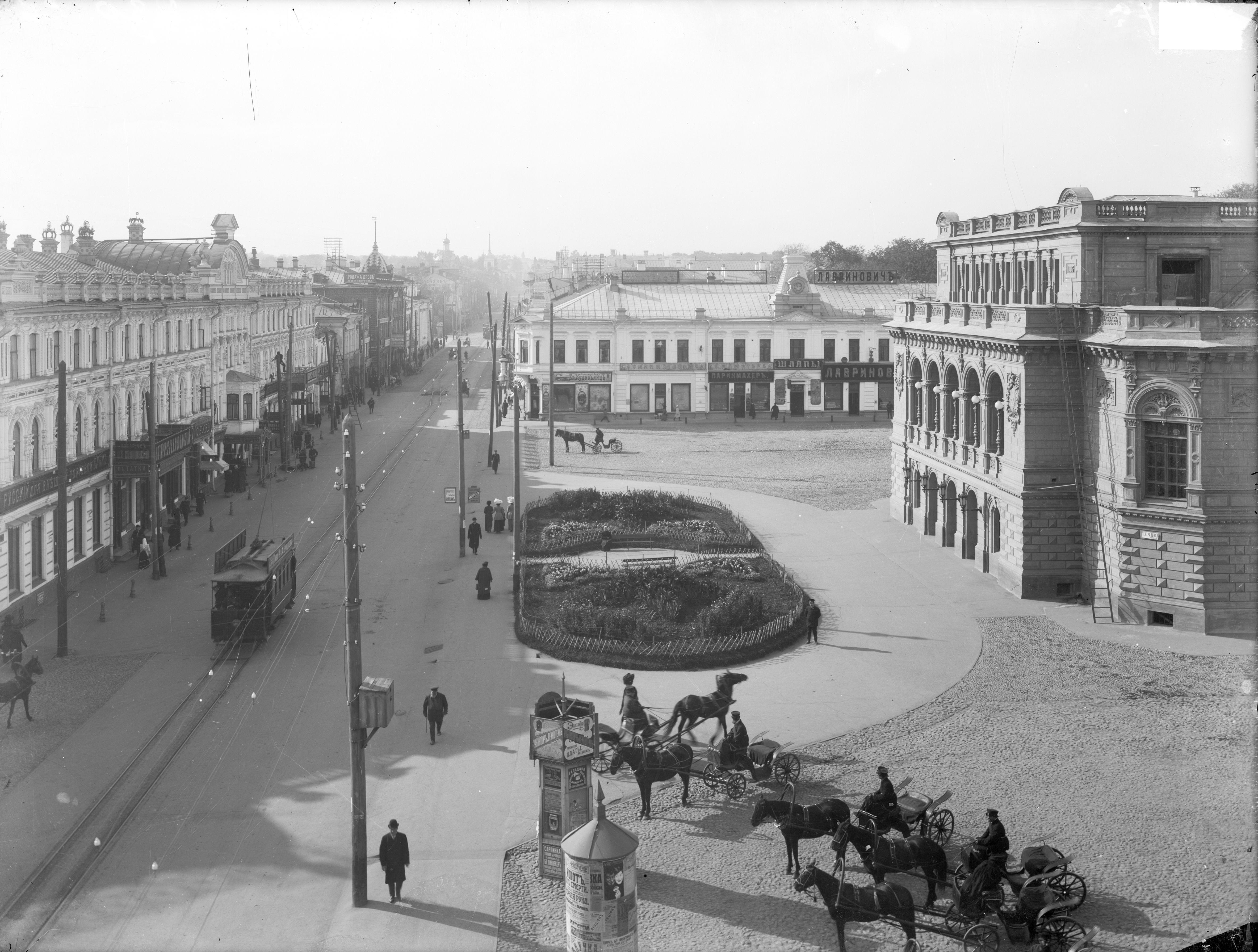 Вид улицы Большой Покровской