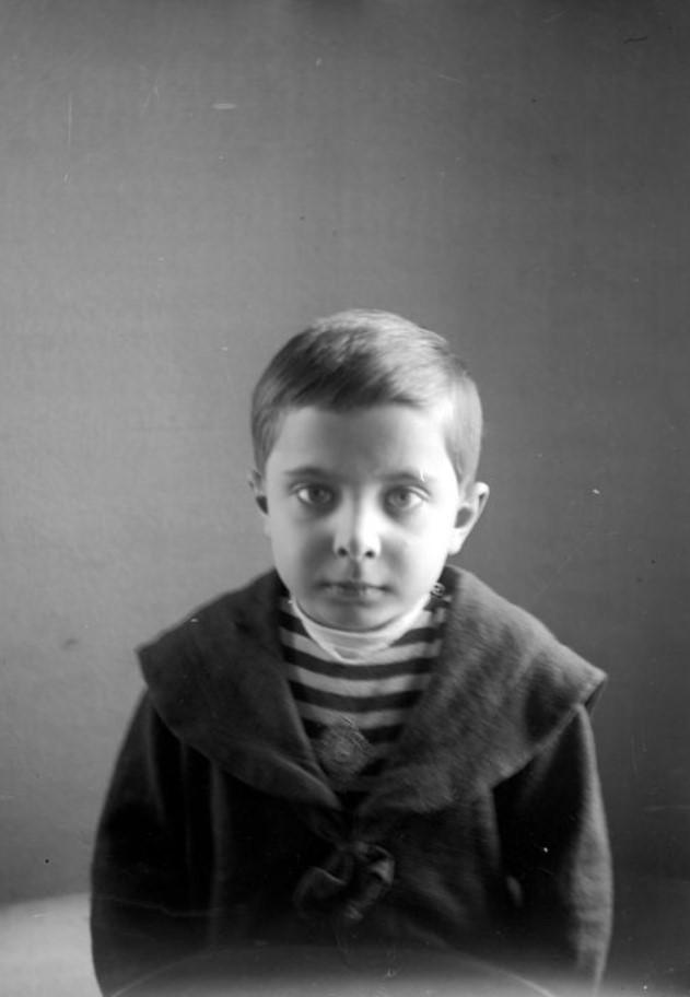 Портрет Георгия Килевейна (сына архитектора Р.Я. Килевейна)