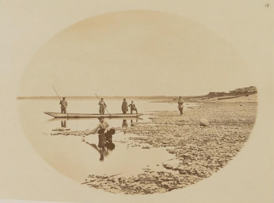 03. Вид на реку Бурея, в 240 километрах от Благовещенска, которая проходит через богатые золотом районы