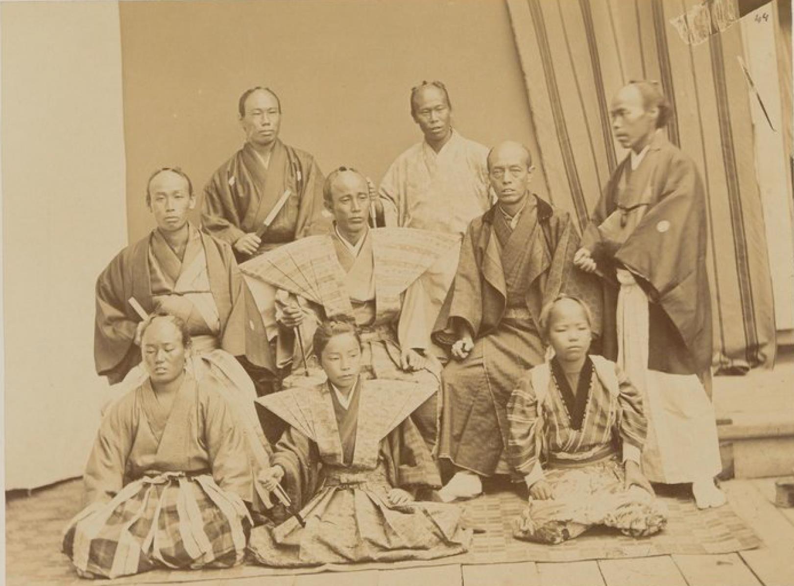 Японская акробатическая труппа на Амуре