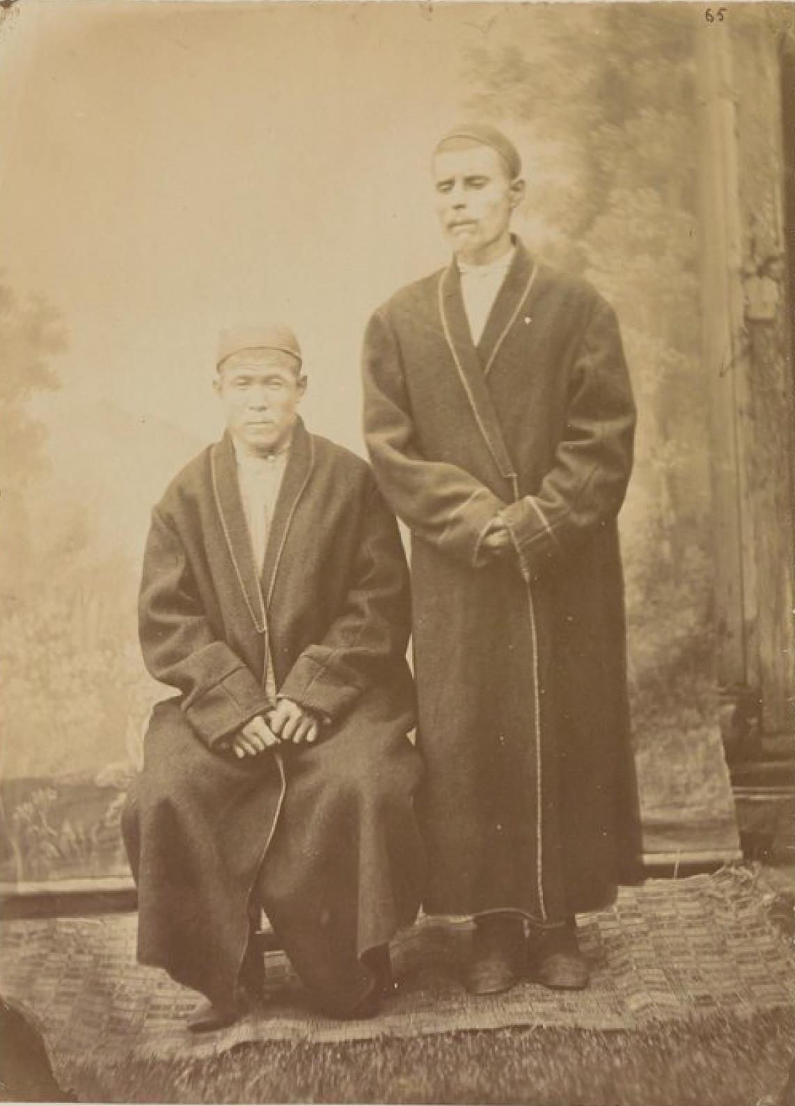 Депортируемые татары с Амура