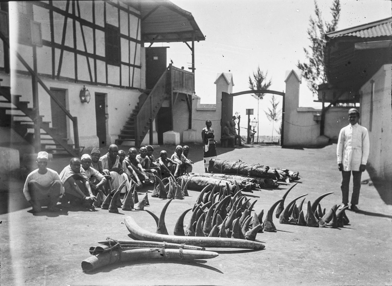 289. Станция немецкого общества Восточной Африки (ДОАГ)  в Моши