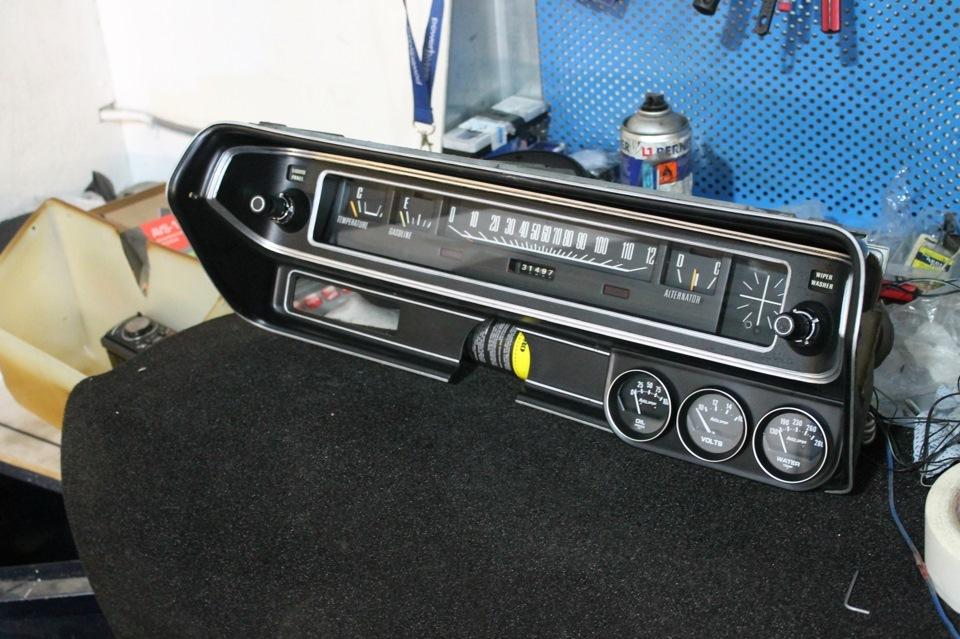 Восстановление Dodge Charger 1971 года выпуска
