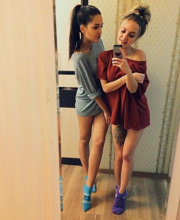 Девушки из социальных сетей