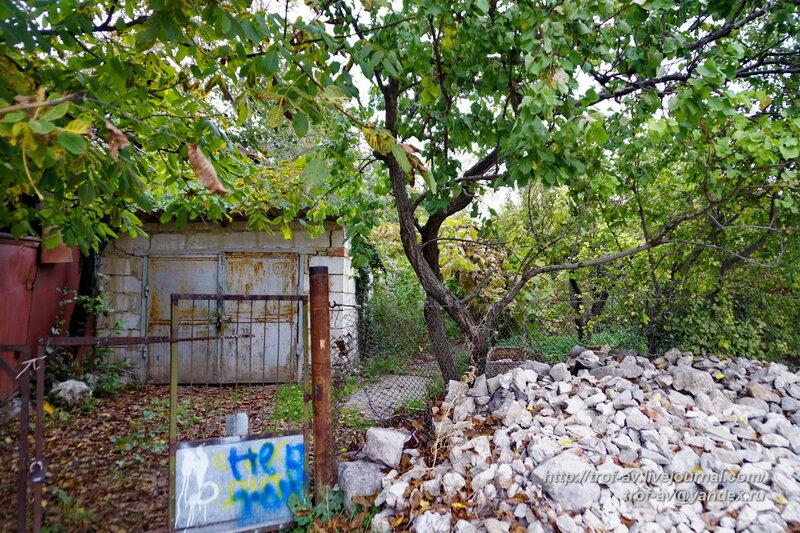 Руины кенассы, Старый Крым