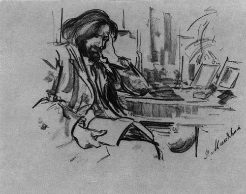 портрет Беклемишева