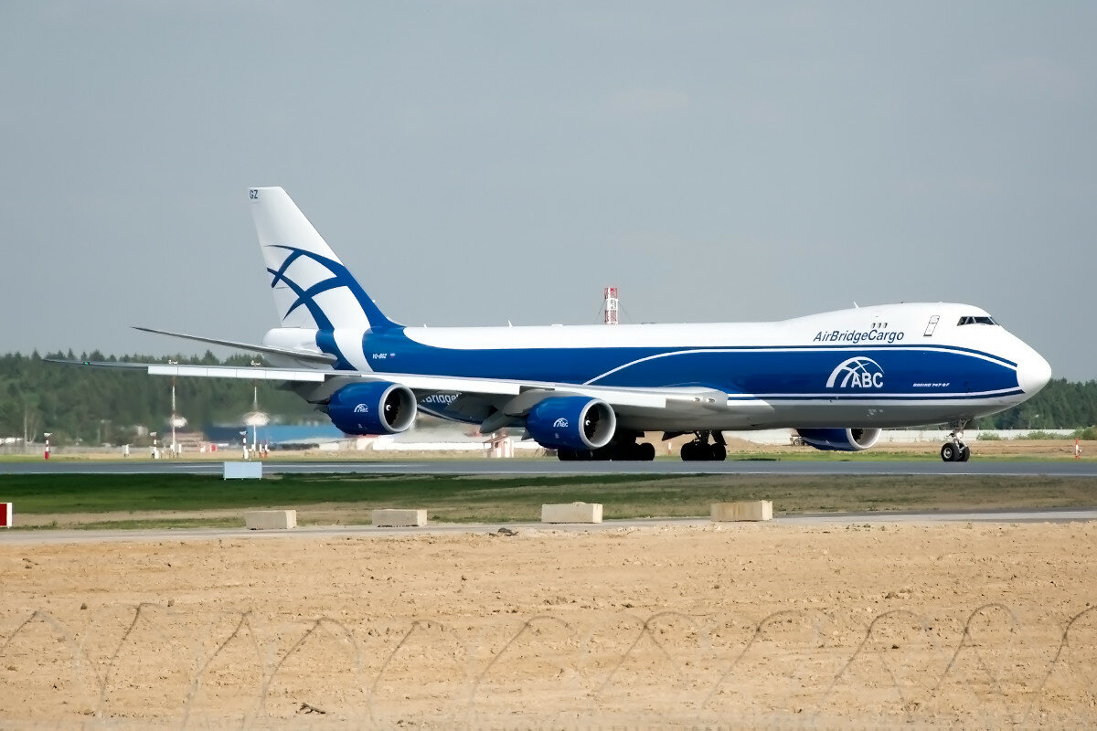Boeing 747-8HVF. Air Bridge Cargo. VQ-BGZ.