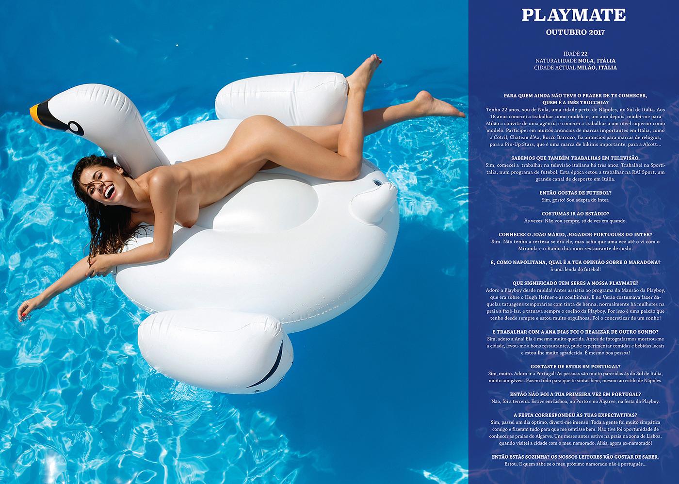 Playmate PLAYBOY Portugal Inés Trocchia | фото Ana Dias