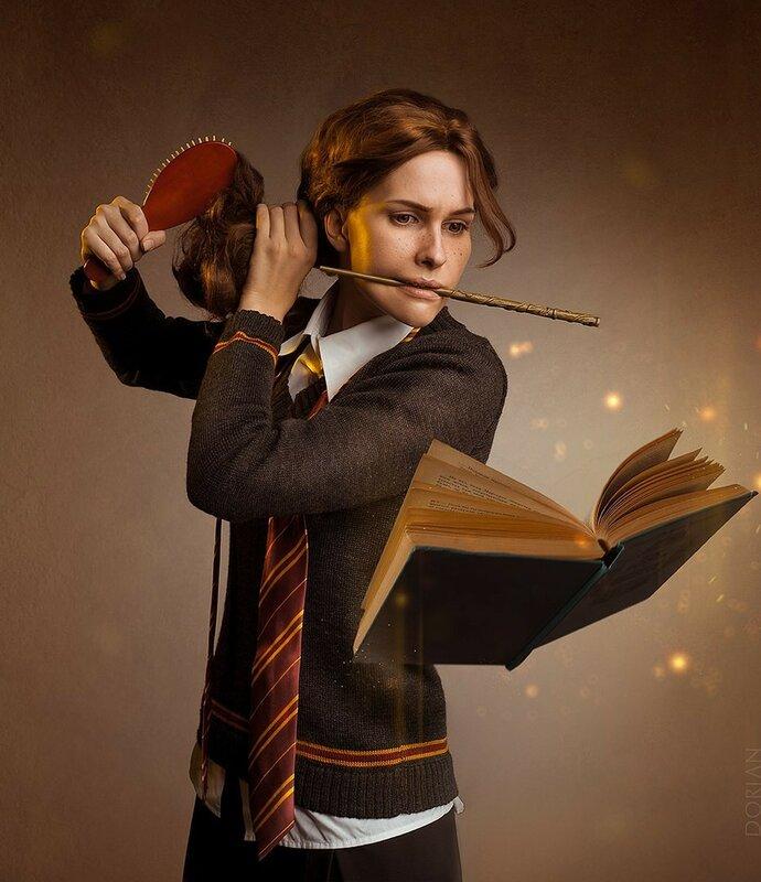 0 17ca38 94f55b76 XL - Гермиона из Гарри Поттера: Лучший Косплей