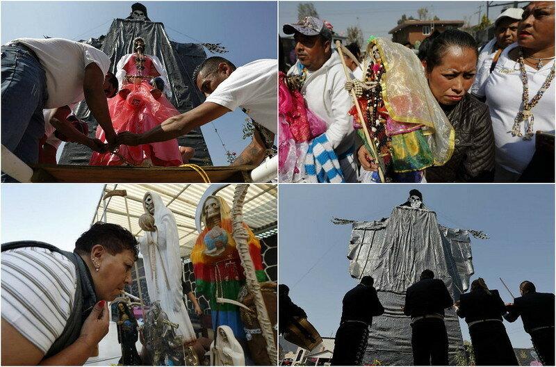 0 17de36 77e495b4 XL - Мексиканский культ Святой Смерти
