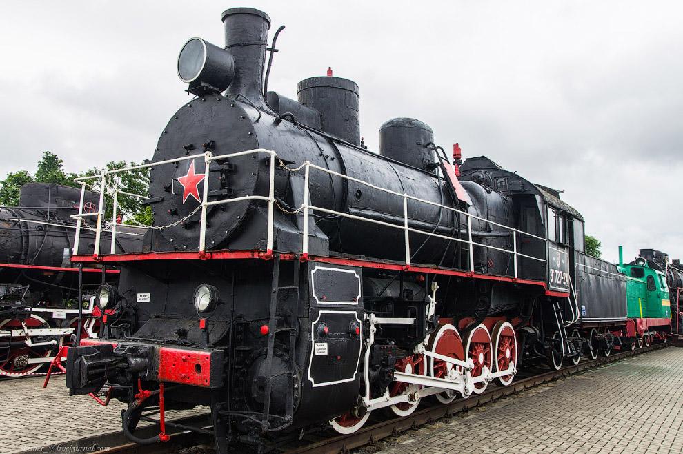 5. Паровоз Типа 0-5-0 серии Э Р №739-93.  Построен в 1935 году на Луганском паровозостроительно