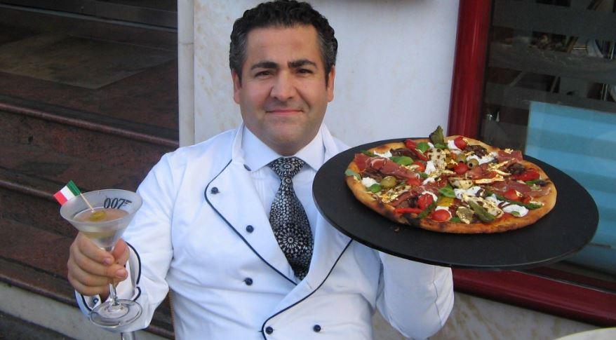 Пицца Pizza Royale 007 — 4200 долларов (250тысяч рублей)   Автор пиццы До