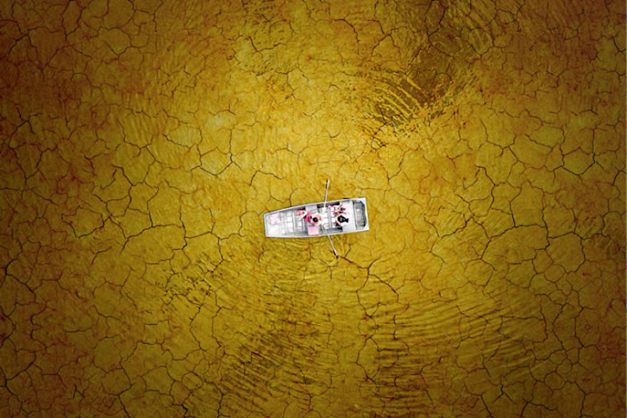 Озеро Берк, штат Вирджиния. Автор фото: Milo Allerton.