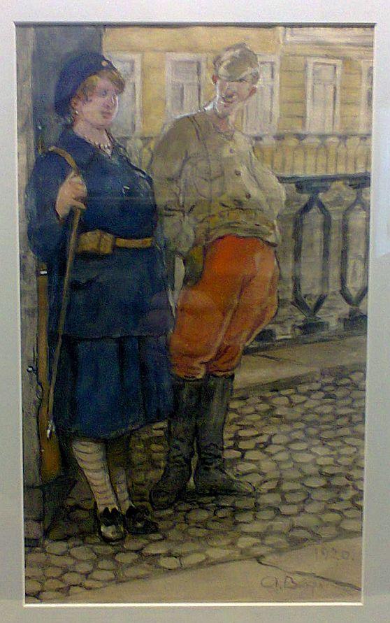 Вахрамеев А.И., рисунок