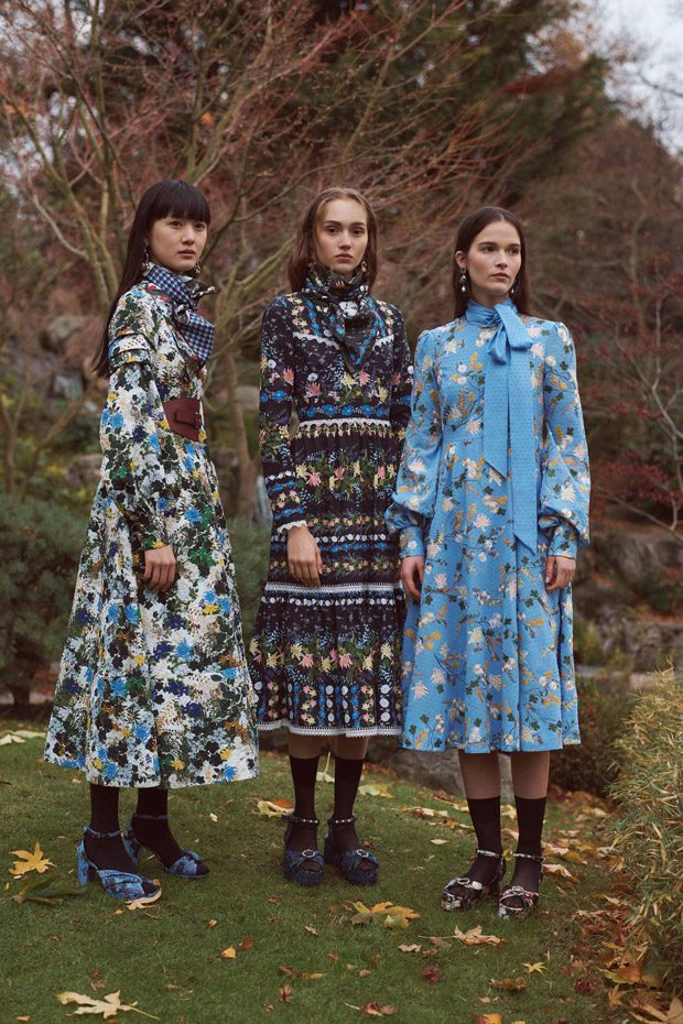 ERDEM Pre-Fall 2018 Womenswear Collection