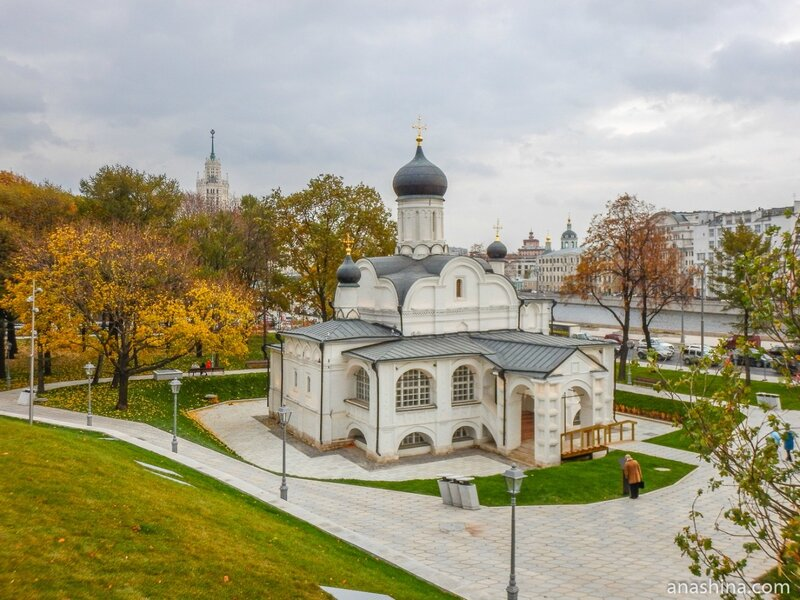 Храм зачатия праведной Анны, что в Углу, Москва
