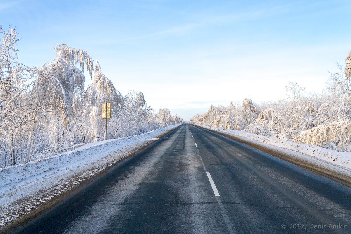 дорога зима хвалынск фото 5