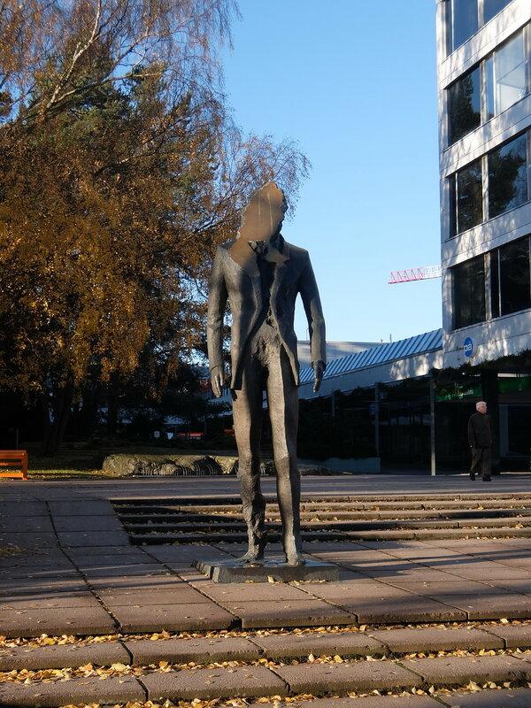 Эспоо - Статуя без лица
