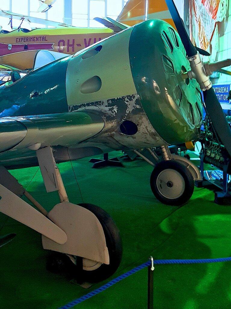 Финский музей авиации. И-16 тип 15 (УТИ-4) 12.jpg