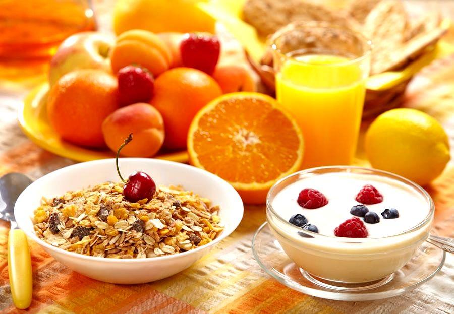 питание утром