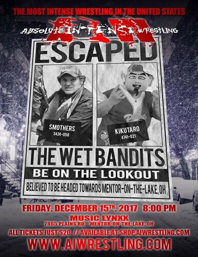 Post image of AIW The Wet Bandits