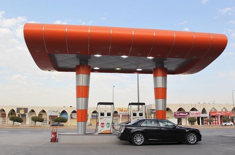 Автозаправочная станция в Эр-Рияде