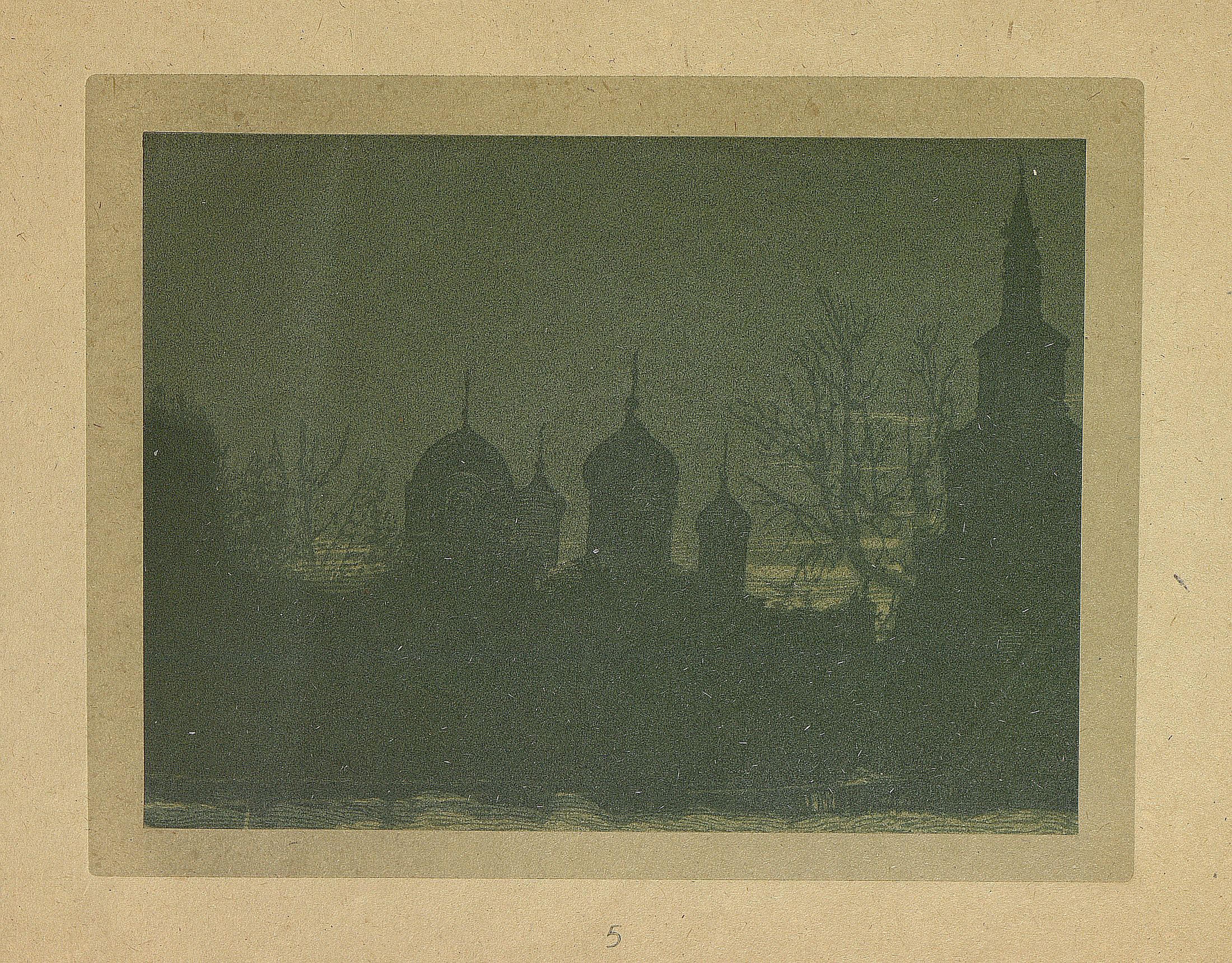 06. Силуэт Донского монастыря