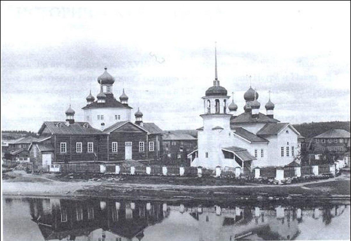 Окрестности Онеги. Село Тамица