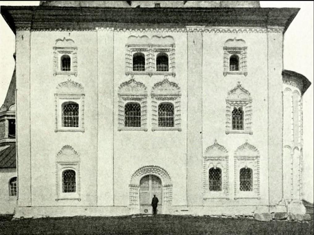 Благовещенская церковь, вид на южный фасад