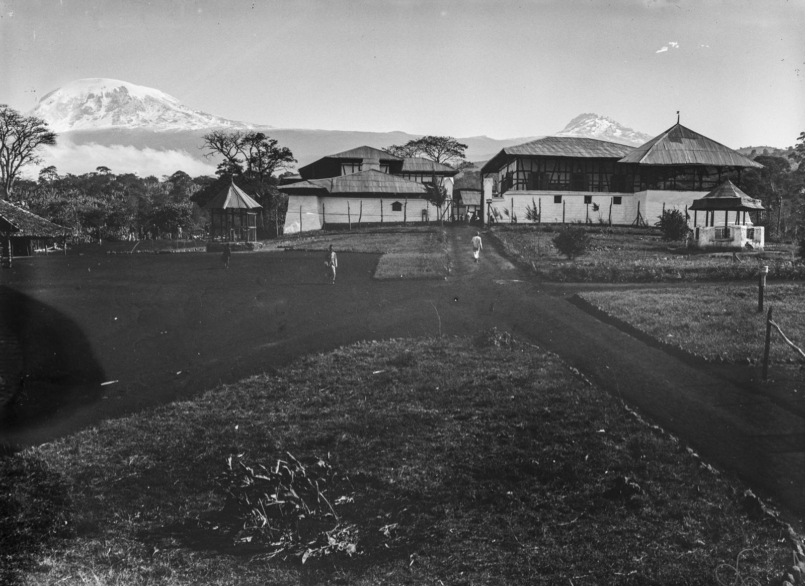 283. Станция немецкого общества Восточной Африки (ДОАГ)  в Моши