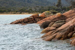 Розовые скалы Тасмании