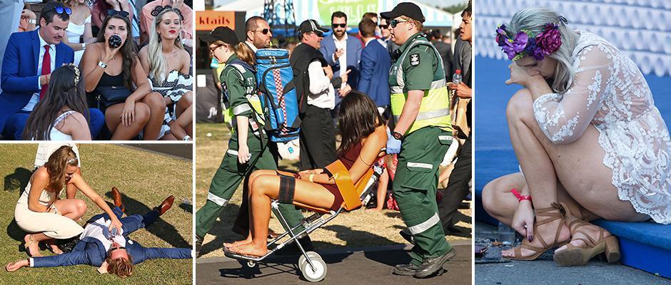 День ставок на скачках в Мельбурне