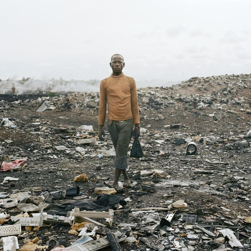 Жизнь возле свалок в трущобах Ганы