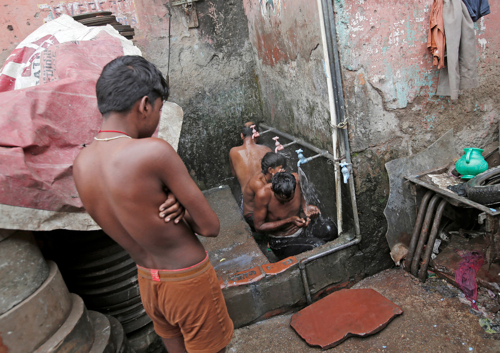 Фото, сделанные в Индии на прошлой неделе