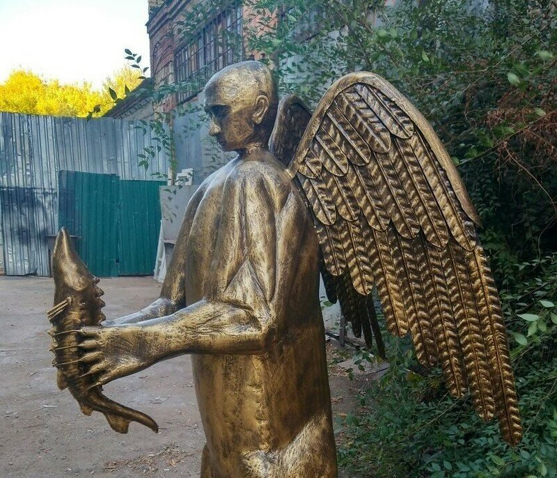 0 179c42 14e0c42b XL - Скульптура медведя с головой Путина