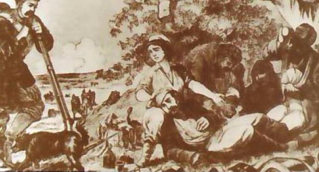 Когда положение войска ухудшилось, многие женщины покинули обоз и Севастополь, ушли на север, в безо