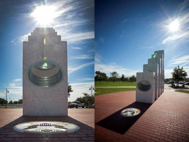 Лишь только 11 ноября ежегодно солнце светит в этом мемориале (9 фото)