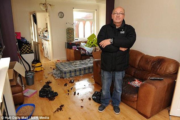 Хозяин, который прожил в доме 20 лет, прежде чем начать его сдавать, сказал, что судебный процесс пе