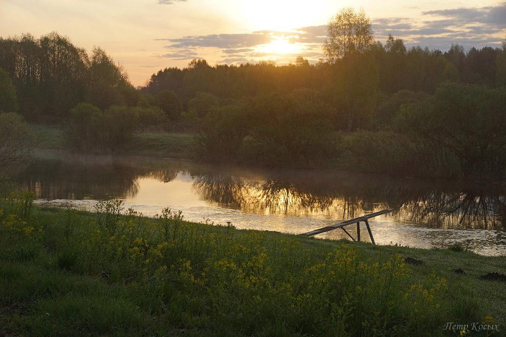 6. Самое мое любимое место в тех краях— это пойма реки Сороть и заливные луга. Поэтому о