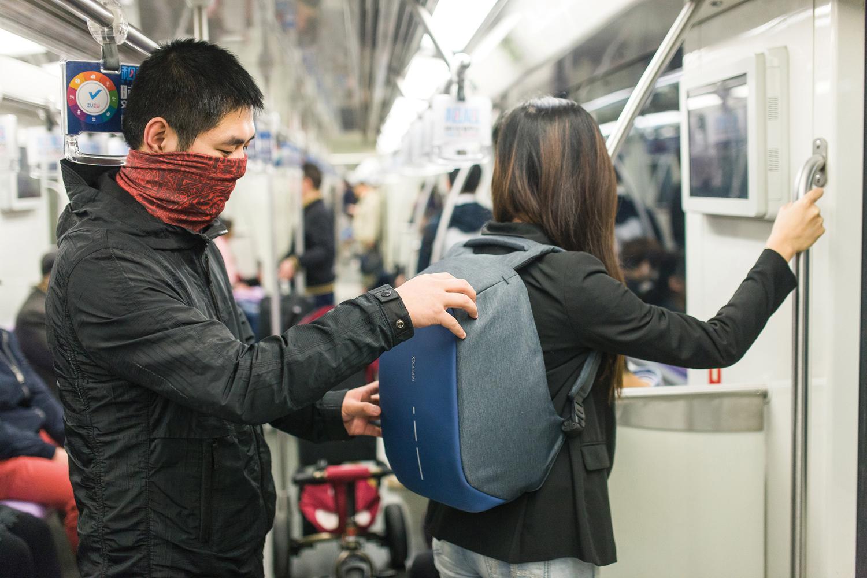 Стильный и практичный рюкзак Bobby, с защитой от краж (1 фото)