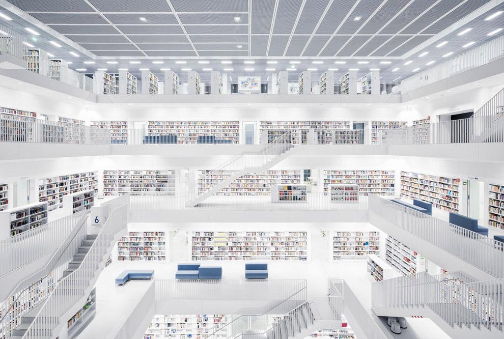 5. Библиотека Коимбрского университета. Это старейший университет в Португалии и один из старейших в
