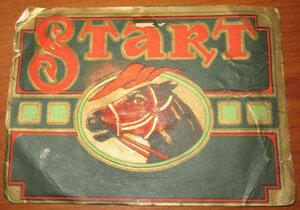 Этикетка от папирос  START