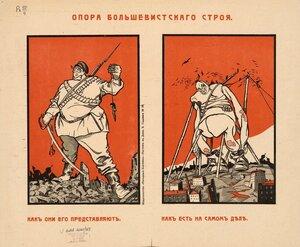 Опора большевитского строя
