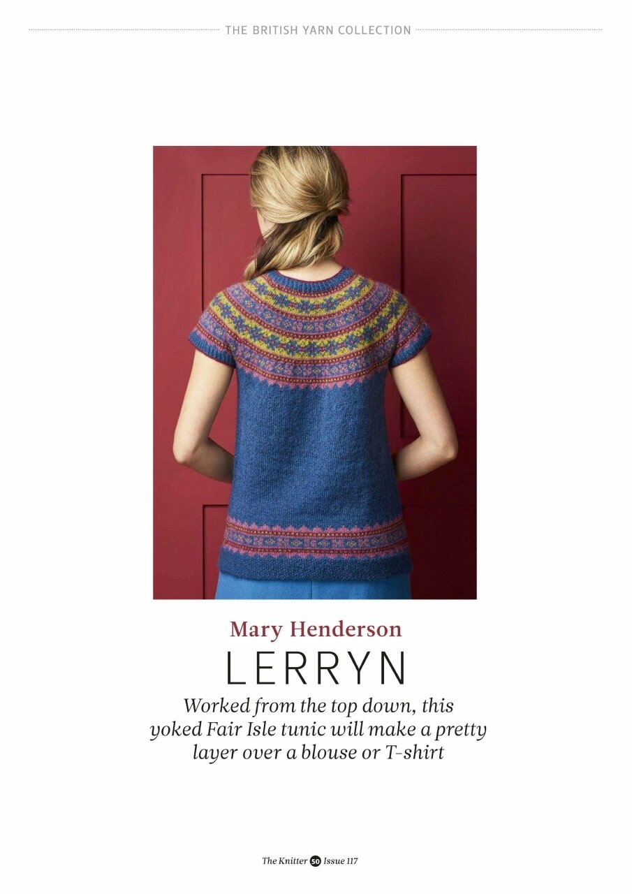 LERRYN (THE KNITTER ISSUE117) - 编织幸福 - 编织幸福的博客