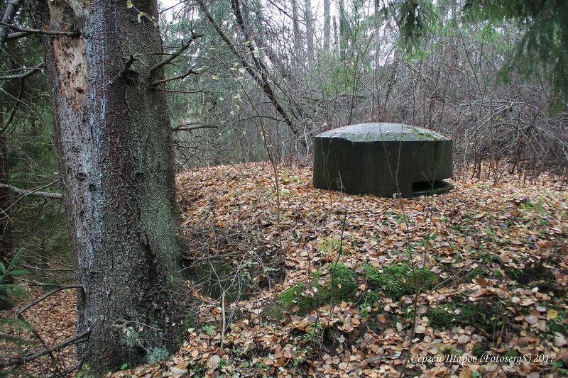 Правый (восточный) наблюдательный бронеколпак