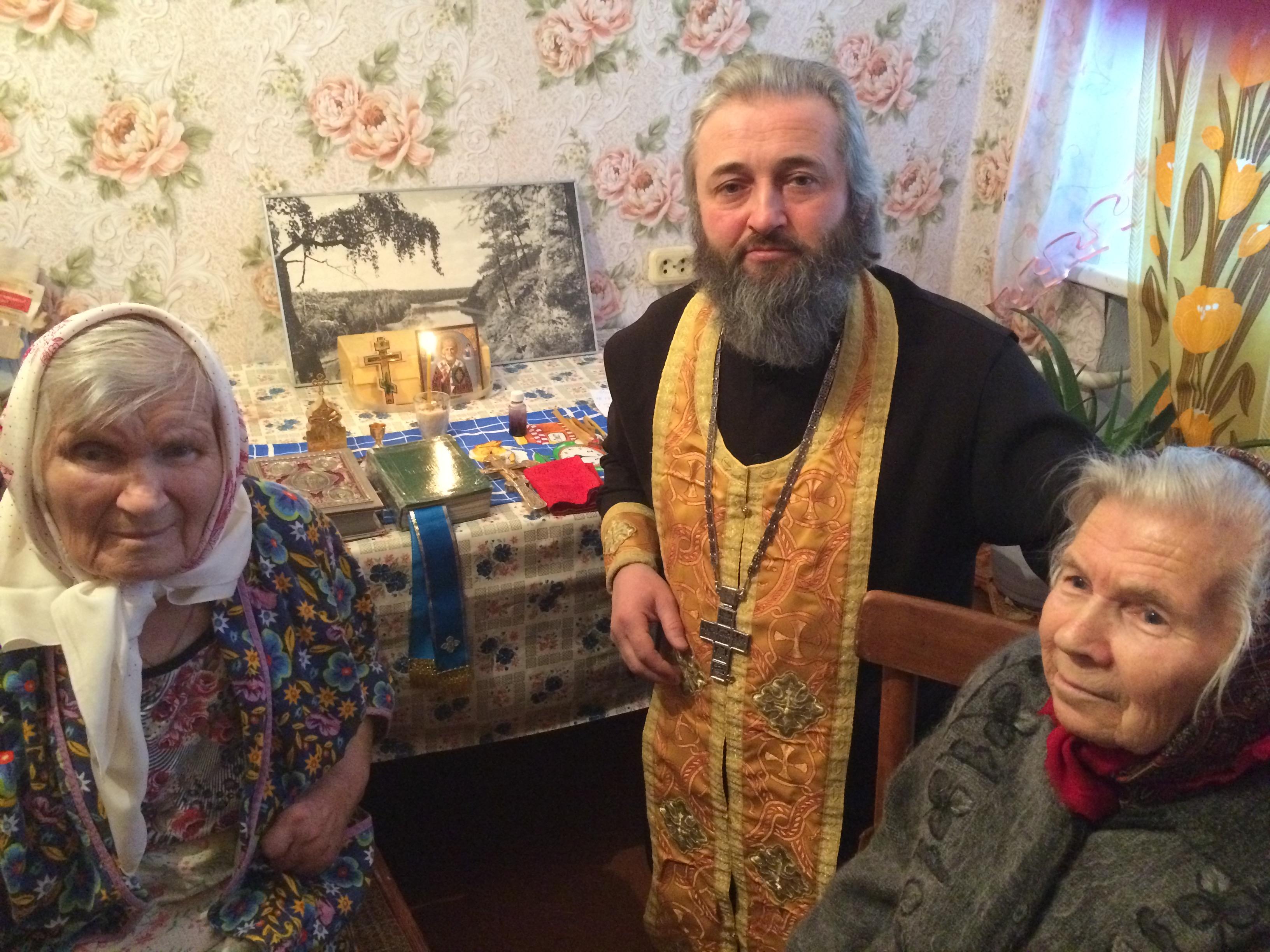 2017_12_18 Причащение больных на дому